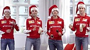 Season Greetings and Christmas Song from Sebastian Vettel