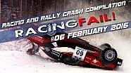 Carreras y Rally Crash compilación semana 06 de febrero de 2016