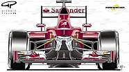 Ferrari SF16-H | Suspensión delantera