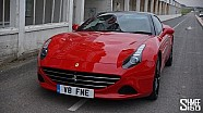 Collecting Ferrari California T and Starting the Road to Geneva