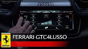 Ferrari GTC4Lusso - Focus on the Infotainment