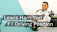 F1 explained: Lewis Hamilton's driving position!