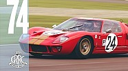Kenny Brack spanks it with Graham Hill's Savage GT40