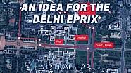 Un'ipotesi di pista per l'ePrix di Delhi