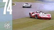 Hamill Chevrolet and Lola T70 SMASHES up Goodwood