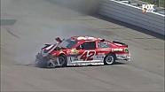 Kyle Larson crashes hard - NASCAR Sprint Cup Auto Clib