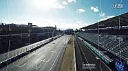 无人机追击Formula E赛车