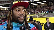 2016 - Race Day LIVE! - Atlanta - Malcolm Stewart on the Podium