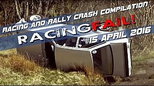 Racing and Rally Crash Compilation Week 15 April 2016