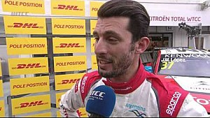 Interview - José María López takes Pole Position in Budapest
