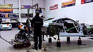 Timelapse du changement de moteur et de boite de vitesses