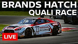LIVE - Blancpain Sprint Series - Brands Hatch 2016 - Qualifying Race