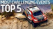 I 5 eventi più probanti del motorsport
