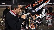 2016 World of Outlaws Craftsman Sprint Car Series Victory Lane from Tri-State Speedway
