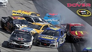 Monster-sized wreck collects 18 cars at Dover