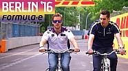 Sébastien Buemi e Sam Bird ciclisti