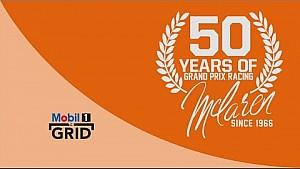 David Coulthard Vs. Jenson Button – 50 Years Of McLaren-Honda   Mobil 1 The Grid