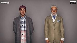 Hamilton plays Grandpa in Allianz road safety new advert