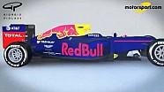 Giorgio Piola, analisi tecnica - Evoluzione della Red Bull RB12