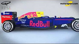 Giorgio Piola - Red Bull RB12 evolution