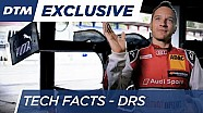 DRS (Drag Reduction System) - Tech Facts - DTM 2016