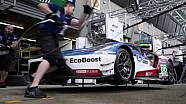 Ford Chip Ganassi Racing Garage Tour with Harry Tincknell