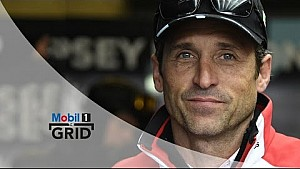 Star Turn – Jackie Chan, Jason Statham & Patrick Dempsey At Le Mans, 2016 | Mobil 1 The Grid