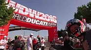La première journée de la World Ducati Week 2016