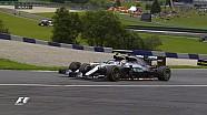 GP d'Autriche - Le contact Rosberg/Hamilton et l'arrivée