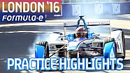 All-Action London 2016 Free Practice Highlights (Sat) - Formula E