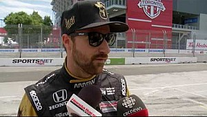 HPD Trackside -- Honda Indy Toronto IndyCar Qualifying Report