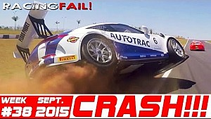 Racing and Rally Crash Compilation Week 38 September 2015