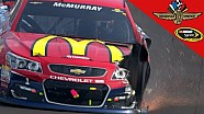 McMurray spins on restart, collects Newman