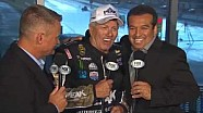 16X Champ John Force in the FOX booth with Tony Pedregon & Dave Rieff