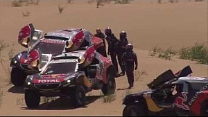 Team Peugeot Total at Silk Way Rally - BEST OF ACTION