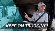 Intercambio de trabajo! ¿Pueden manejar los pilotos de F1 un camión?