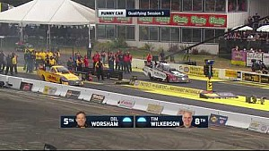 It was a RECORD-SMASHING Funny Car weekend in Seattle