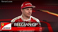 The Belgian GP with Kimi Raikkonen - Scuderia Ferrari 2016