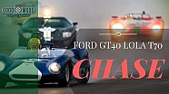 Ford GT40's determined Lola T70 chase