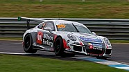 Carrera Cup Sandown Race 3 interviews