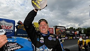 Force wins first of six in the NHRA Countdown playoffs #NHRACountdown