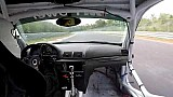 Nürburgring onboard race car looses door at 280 kph