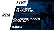 LIVE: Carrera 2 - DTM Hockenheim Final 2016