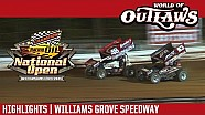 World of Outlaws Craftsman Sprint Cars Williams Grove Speedway October 14th, 2016 | Highlights