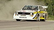 Audi quattro in Aktion