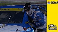 Radio issues for Harvick early in the race