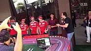 F1 2016 巴西大奖赛 - 莱科宁、维特尔、卡卡轨道车大比拼