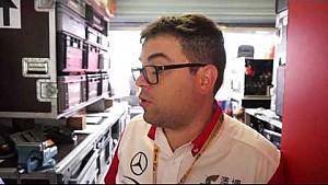 FIA F3 World Cup - René Rosin Prema Powerteam team manager on fastest in practice 1