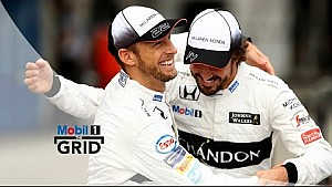 Synergy – Jenson Button & Fernando Alonso On Teamwork At McLaren-Honda | Mobil 1 The Grid