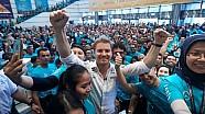 An F1 Champion's Welcome for Nico Rosberg in Kuala Lumpur!